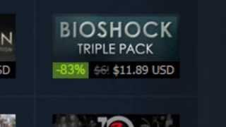 Bioshock Triple Pack Reaction