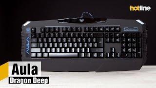 Aula Dragon Deep — обзор игровой клавиатуры