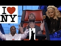 New York Voices. Top 10 Blinds (The Voice USA compilation)
