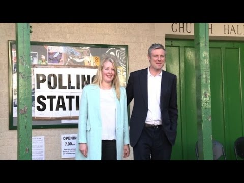 London mayoral election: Zac Goldsmith votes