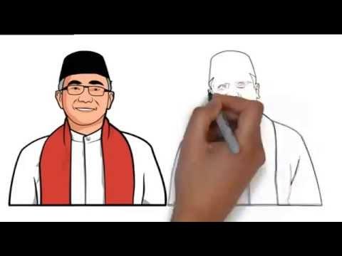 Pilkada Depok -  Animasi Idris Pradi No Urut 2