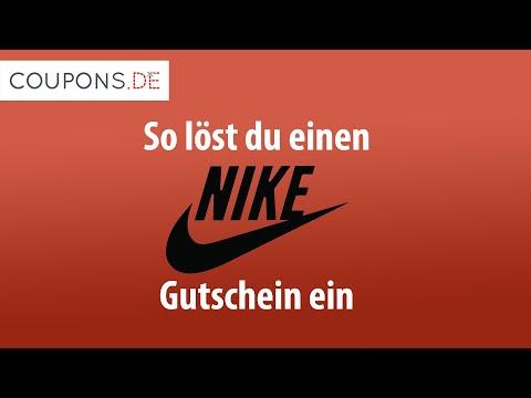 So Löst Du Einen Nike Gutschein Ein