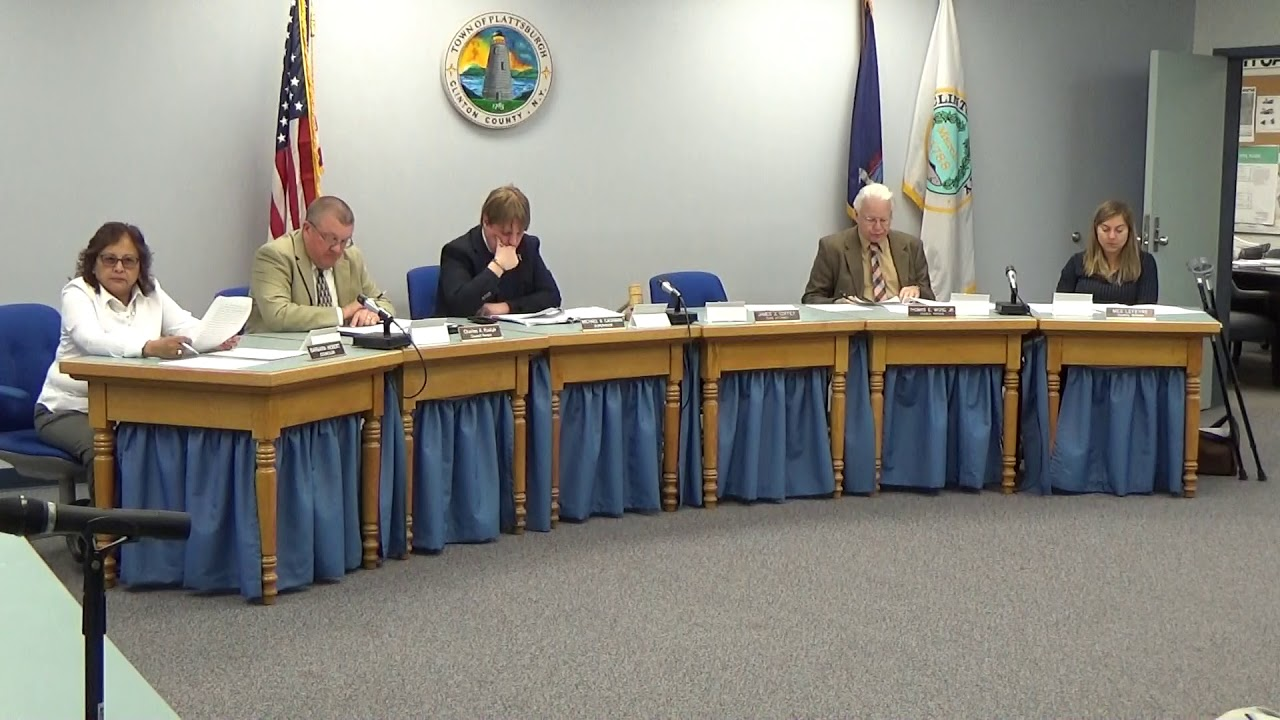 Town Of Plattsburgh Meeting  5-17-18