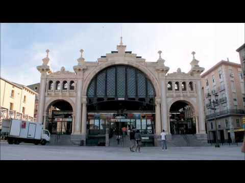 Places to see in ( Zaragoza - Spain ) Mercado Central