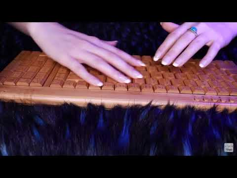 ASMR wooden keyboard (not mine! I posted this for some people that enjoy this)