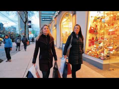 Shopping In Vancouver