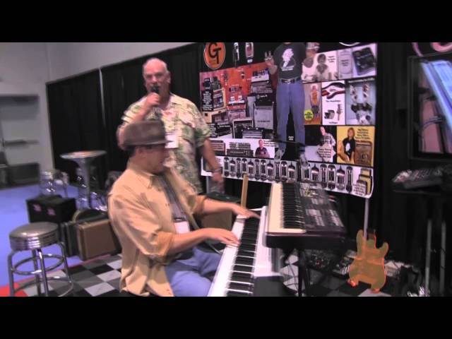 CPS Live! at the 2015 NAMM with Aspen Pittman for Keyboard Corner!