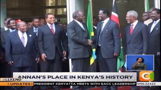 Kofi Annan helped mediate Raila, Kibaki dispute