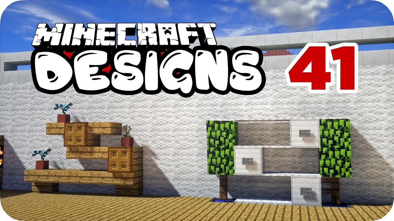 Regale Und Boden Minecraft Designs 41 Youtube