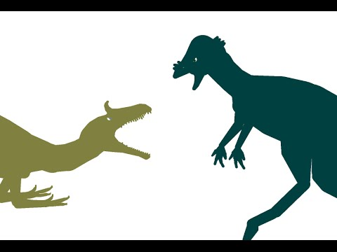 Primal Clash Cryolophosaurus vs Pachycephalosaurus