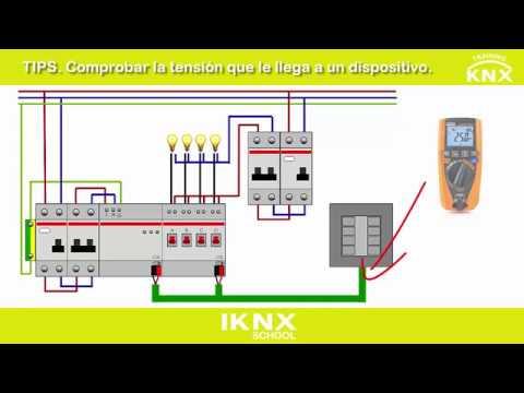 TIPS. Tensión que le llega a un dispositivo KNX