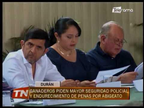 Ganaderos piden mayor seguridad policial y endurecimiento de penas por abigeato