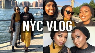 BLACK GIRLS SLAY IN NEW YORK CITY! | NYC VLOG | Aysha Abdul