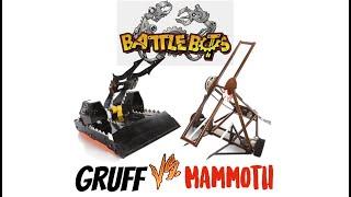 Gruff Vs Mammoth  #Battlebots