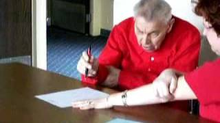 Essential Tremor Right and Left Hand Target Test