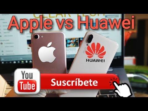 Huawei P20 Lite Vs Iphone 7 ¿Cual Es Mejor En El 2018? Review Real