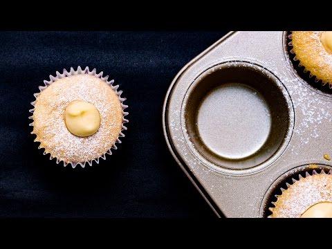 Cách làm bánh Hokkaido Cupcake - Bánh bông lan kem sữa
