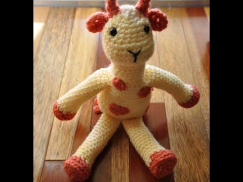 Crochet pattern Giraffe April crochet amigurumi giraffe, English ... | 360x480