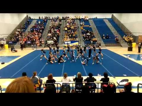 Stone Bridge High School Round 2 at 5A North Regional Cheer 2015