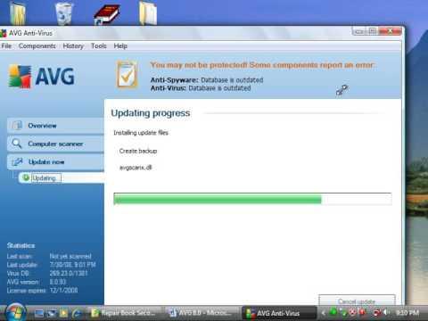How To Update AVG Antivirus