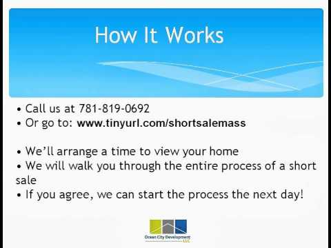 Short Sale Newtonville: How to complete a short sale in Newtonville Massachusetts