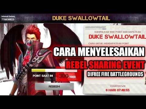 CARA MENYELESAIKAN MISI DUKE SWALLOWTAIL | FREE FIRE ...