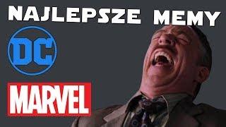 MARVEL, DC - NAJLEPSZE MEMY Superbohaterowie!