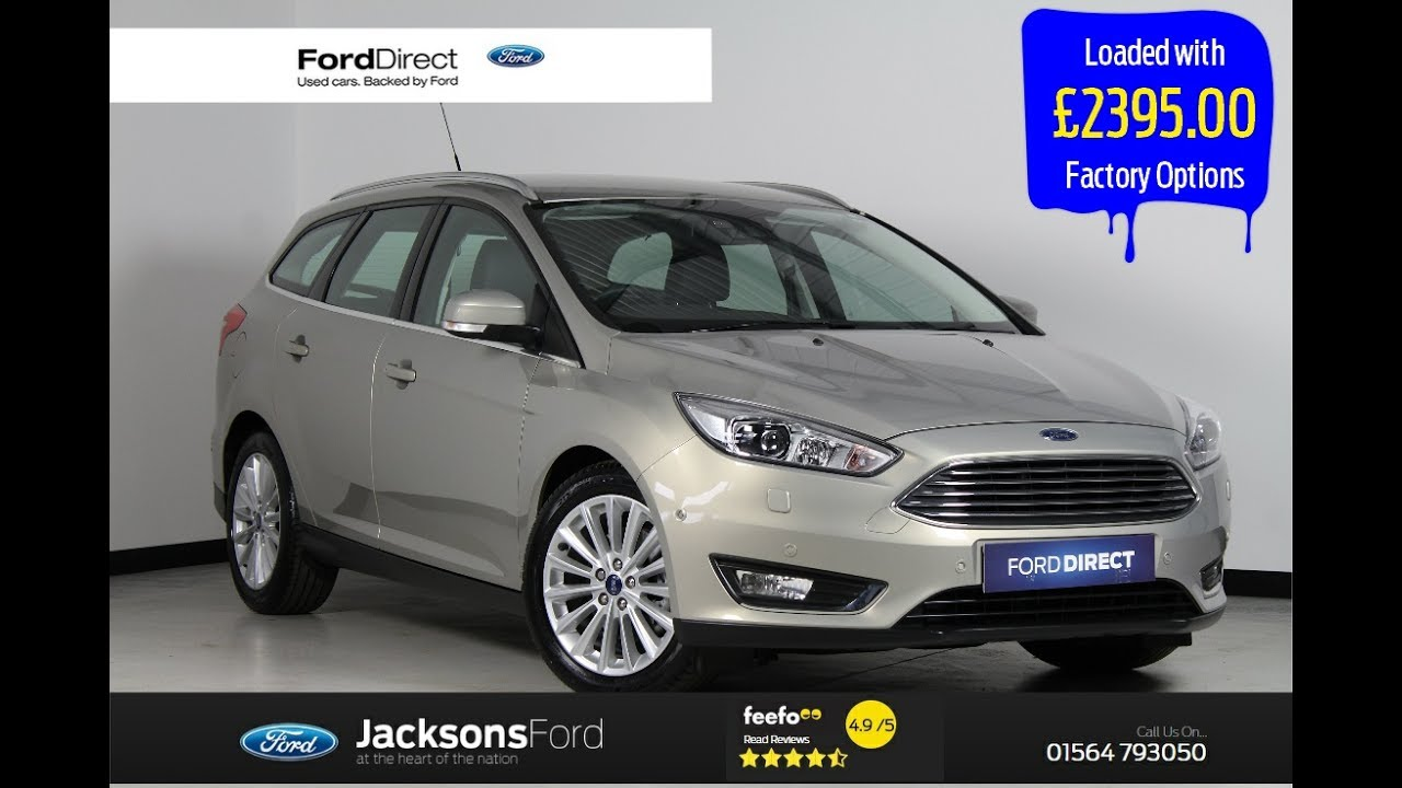 Ford focus 1 5 ecoboost titanium x estate auto 5dr start stop 2016 66 reg estate