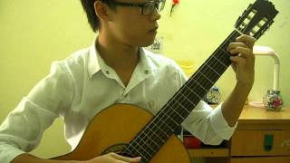 Song from a secret garden Classical Guitar