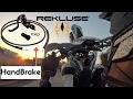Hand Brake review + Test  | Rekluse clutch (ITA)