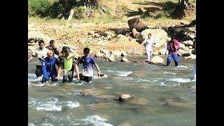 Ibu baru bersalin berjalan 5 kilometer, redah sungai ke klinik