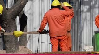 El intendente recorrió la Obra de Plaza España