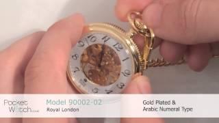 Royal London Mechanical Open Face Pocket Watch