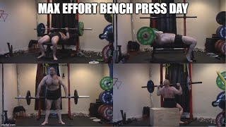 7-27-2020 Orc Mode Training - Max Effort Bench Press Day