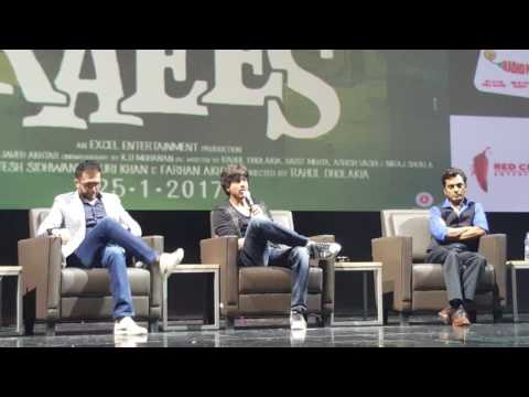 Shahrukh Khan for Raees Movie promotions in Dubai