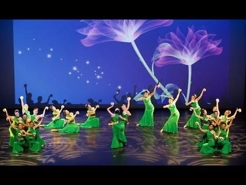 傣族舞: 缅桂花开朵朵香- YouTube