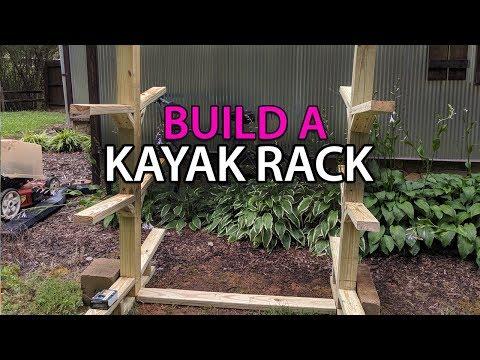 Kayak Rack Build