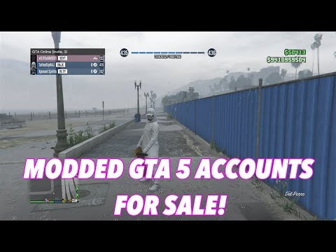 *CHEAP*GTA 5 MODDED ACCOUNTS FOR SALE(XBOX ONE)