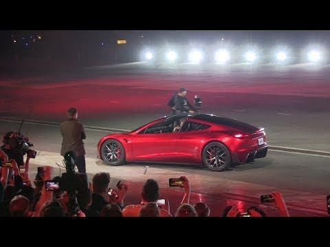 Tesla Next Gen Roadster unveiling