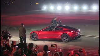 Tesla Next Gen Roadster unveiling thumbnail