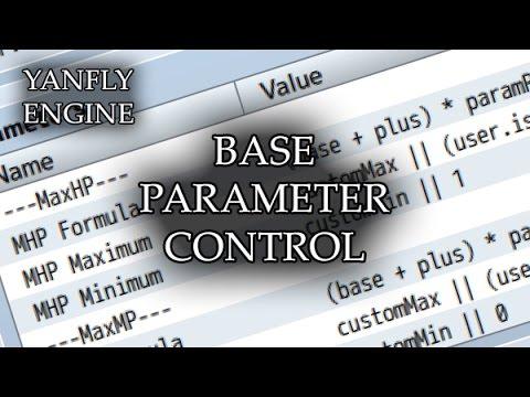 Base Parameter Control (YEP) - Yanfly moe Wiki