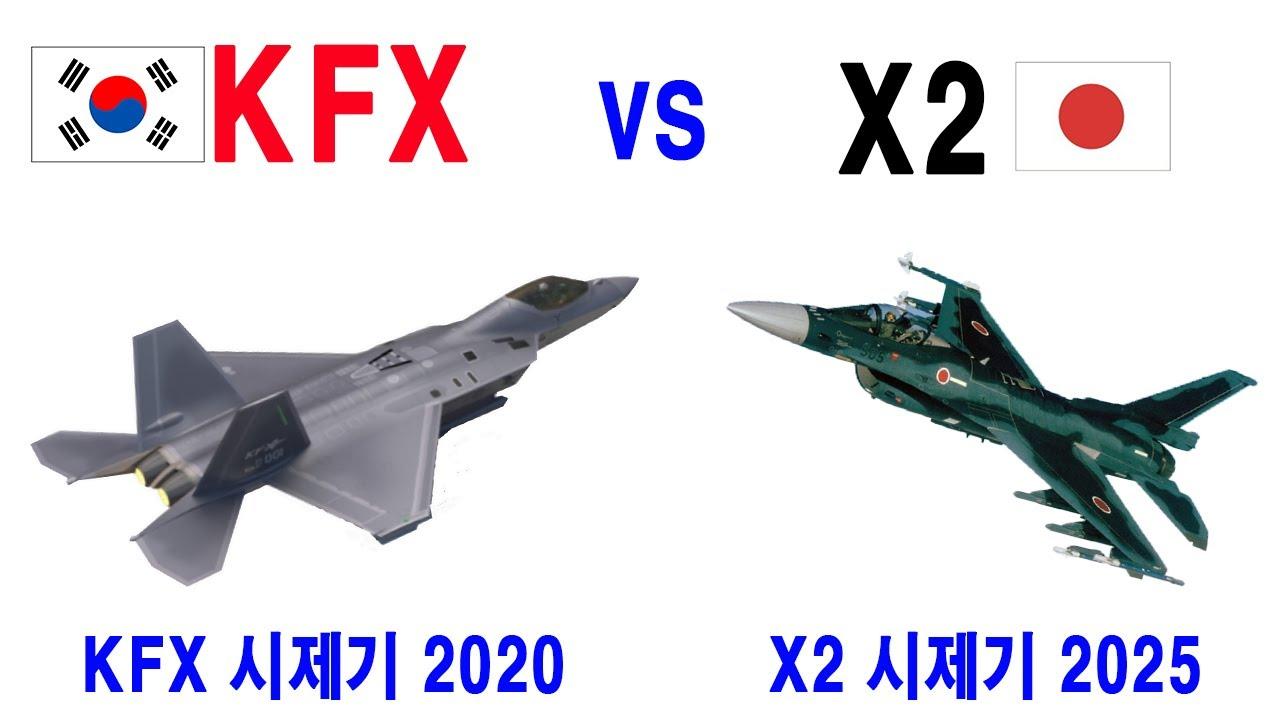 KFX  시제기 테스트 vs 일본 X2 스텔스 전투기 시제기를 2024 년도에 만들기 시작