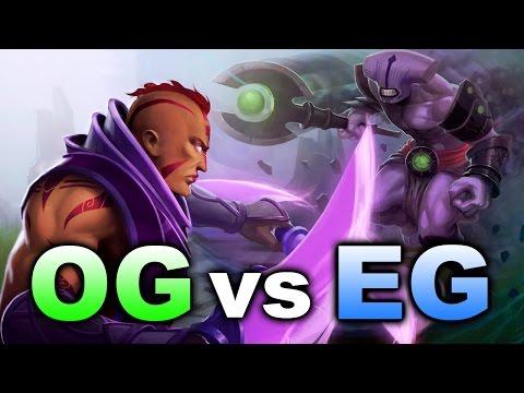 OG vs EG - Green vs Blue Action! - MDL Semi-Final Dota 2