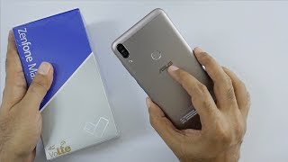New Zenfone Max Pro 6GB With  Mproved Camera Unboxing And Overview