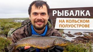 Рыбалка на Кольском. Ловля кумжи на вертушки и колебалки