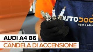 Come sostituire Candela di accensione su AUDI A4 B6 [TUTORIAL]