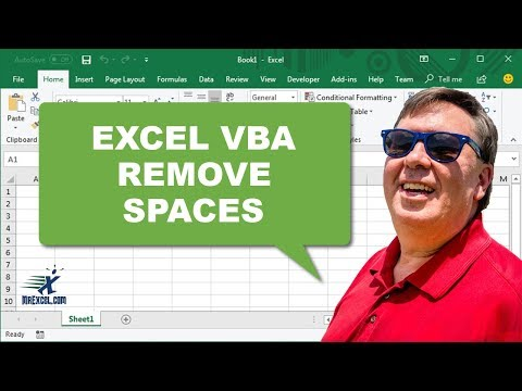 "Learn Excel 2010 - ""Remove Spaces with VBA"": Podcast #1465"