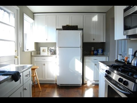 Maximize kitchen counter space youtube - Small kitchen no counter space model ...