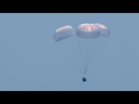 Crew Demo-2 Splashdown