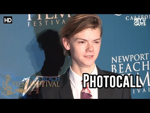 Thomas Brodie-Sangster Red Carpet Photocall (Newport Beach UK Honours Event)